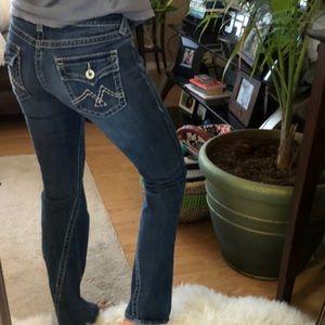 vintage twisted inseam vigoss jeans